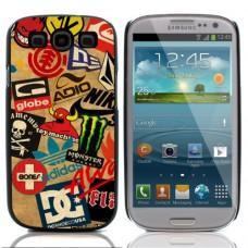 Чехол алюминиевый для Samsung Galaxy S3 I9300 Skateboard