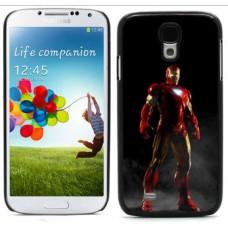 """Чехол алюминиевый для Samsung Galaxy S4 I9500 5"""" Iron Man02"""