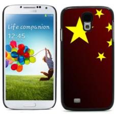 """Чехол алюминиевый для Samsung Galaxy S4 I9500 5"""" China Flag"""