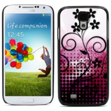 """Чехол алюминиевый для Samsung Galaxy S4 I9500 5"""" Vector Flowers"""