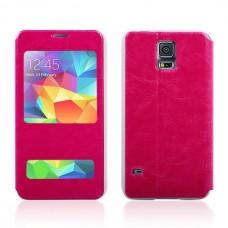 "Чехол кожаный для Samsung Galaxy S5 ""Delicacy"""