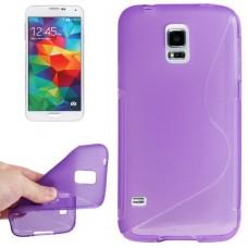 """Чехол силиконовый для Samsung Galaxy S5 Mini G800 """"Smooth Wave"""""""