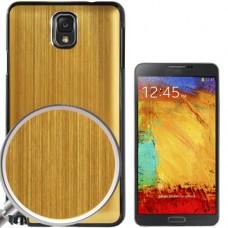 "Чехол пластиковый для Samsung Galaxy Note 3 ""Brushed Metal"""