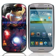 """Чехол алюминиевый для Samsung Galaxy S3 I9300 """"Iron Man"""""""