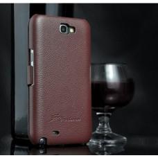 """Чехол кожаный для Samsung Note 2 N7100 """"Fassion"""""""