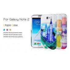 """Чехол пластиковый для Samsung Galaxy Note 2 Baseus Utopia """"Violange"""""""