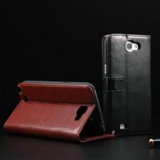 """Чехол кожаный для Samsung Galaxy Note 2 N7100  """"Classy"""""""