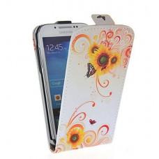 "Чехол кожаный для Samsung Galaxy S4 Mini i9190 ""Multicolored"""