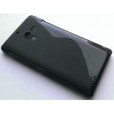"Чехол силиконовый для Sony Xperia ZL L35h / L35i ""Волна"""