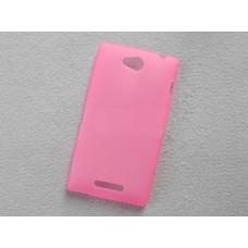 """Чехол силиконовый для Sony Xperia C S39h """"Wave"""""""