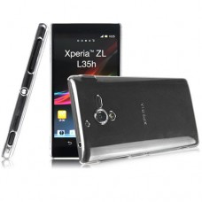 "Чехол пластиковый для Sony Xperia ZL L35h ""Crystal"""