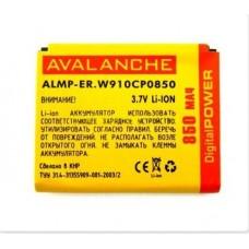 АКБ Avalanche премиум Sony Ericsson W910