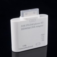 "HDMI и USB Адаптер для iPad/iPhone ""HDMI adapter"""