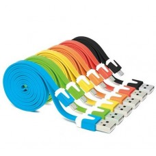 Универсальный переходник USB на micro USB (10 цветов)