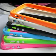 Бампер для iPhone 4/4s (силикон) 10 цветов