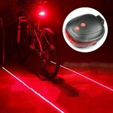 Лазерный фонарь на велосипед (задний)