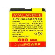 АКБ Avalanche P Nokia 6700 (BL-6Q)