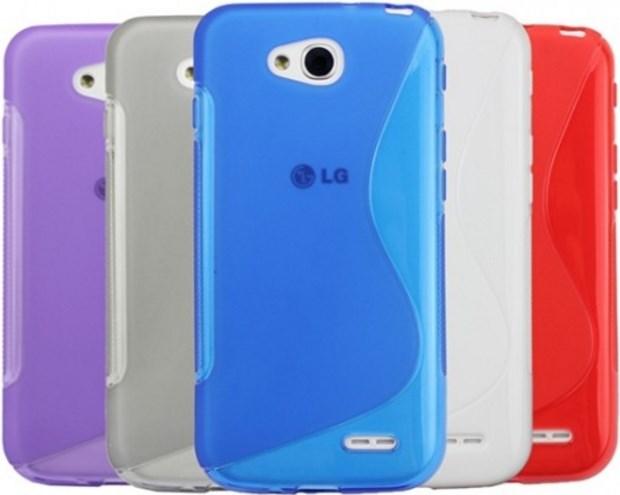 Чехол силиконовый для LG L90 недорого
